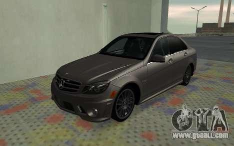 Mercedes-Benz C63 AMG for GTA San Andreas