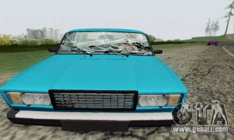VAZ 2107 Coupe for GTA San Andreas side view