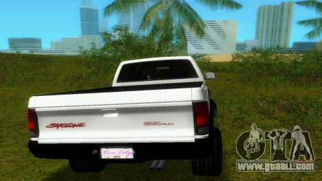 GMC Cyclone 1992 for GTA Vice City inner view