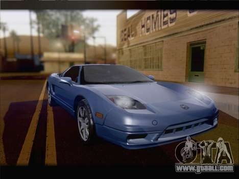 Acura NSX for GTA San Andreas back left view