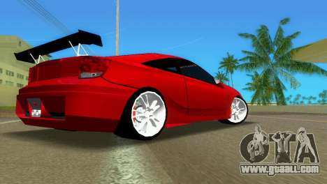 Toyota Celica XTC for GTA Vice City right view
