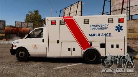 Brute B.C. Ambulance Service [ELS] for GTA 4 left view