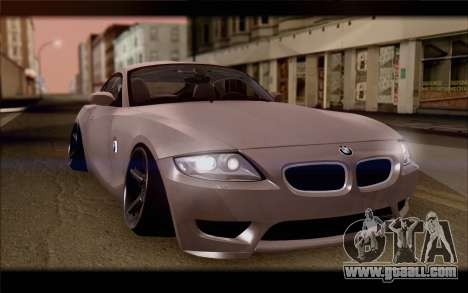 BMW Z4 Stance for GTA San Andreas