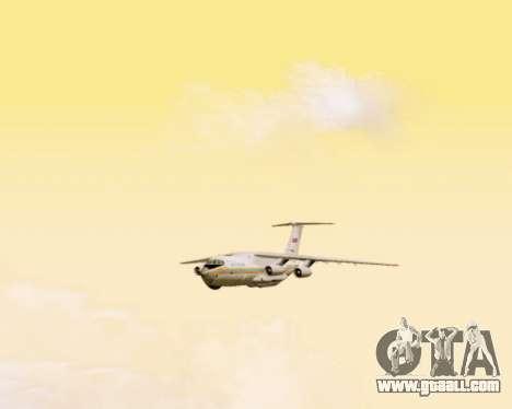 Il-76td EMERCOM of Russia for GTA San Andreas inner view
