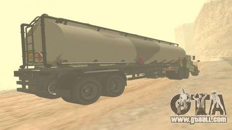 Trailer for GTA 5 Barracks ver. 2 for GTA San Andreas