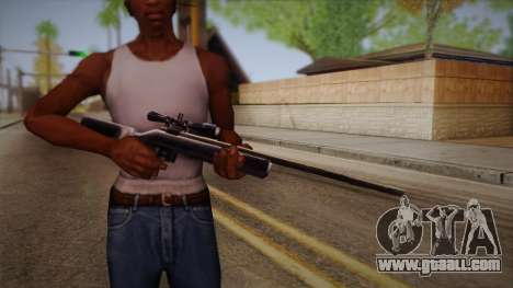 Sniper rifle from Max Payn for GTA San Andreas third screenshot