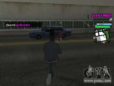 HUD for GTA San Andreas ninth screenshot