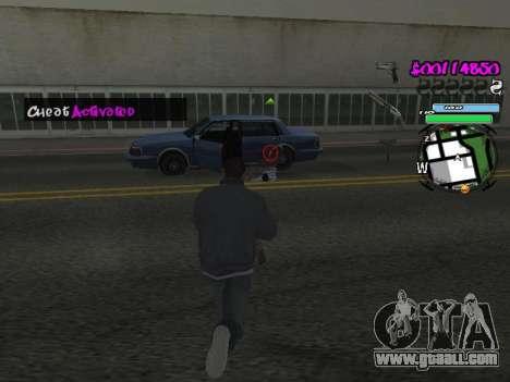 HUD for GTA San Andreas ninth screenshot