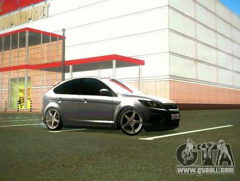 Ford Focus 2009 LT for GTA San Andreas left view