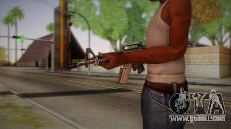 M4 from Max Payne for GTA San Andreas second screenshot