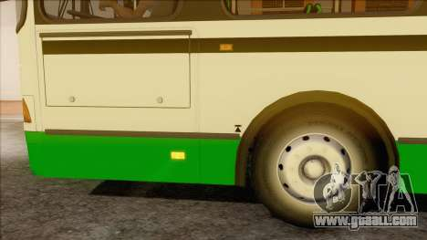 LIAZ 5256.57 for GTA San Andreas back left view