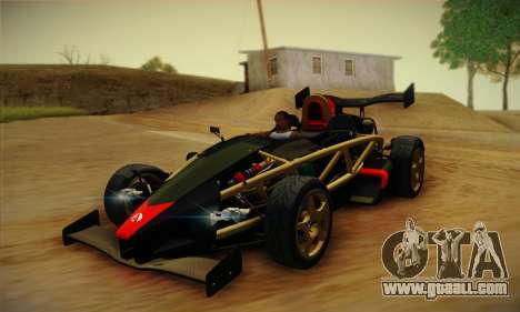 Ariel Atom 500 2012 V8 for GTA San Andreas