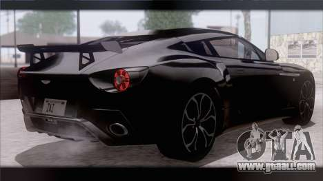Aston Martin V12 Zagato 2012 [IVF] for GTA San Andreas left view