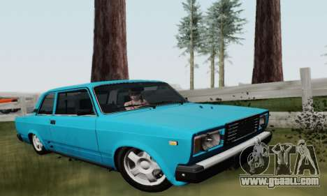 VAZ 2107 Coupe for GTA San Andreas
