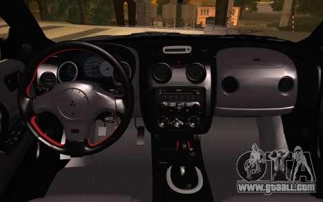 Mitsubishi Eclipse for GTA San Andreas right view