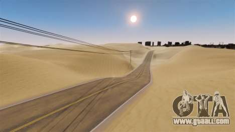 Location Of Desert Highway for GTA 4 forth screenshot