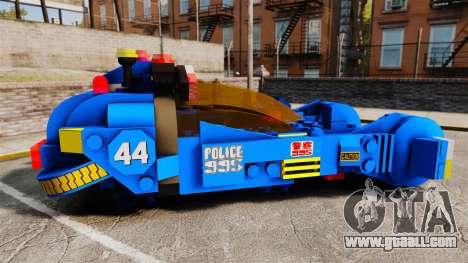 Lego Car Blade Runner Spinner [ELS] for GTA 4 left view