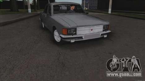 GAZ 3102 Volga for GTA San Andreas upper view