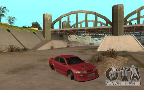 Mitsubishi Lancer Evolution VI for GTA San Andreas