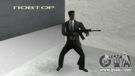 Smoothbore Shotgun Saiga 12 k for GTA Vice City second screenshot