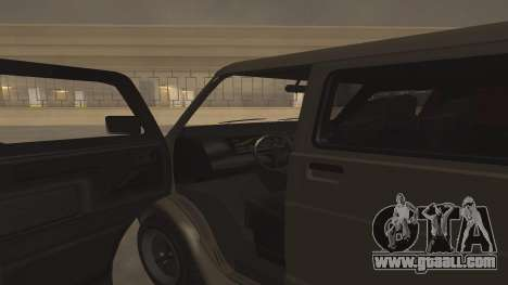 Baller GTA 5 for GTA San Andreas side view