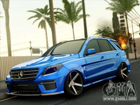 Mercedes-Benz ML63 AMG for GTA San Andreas