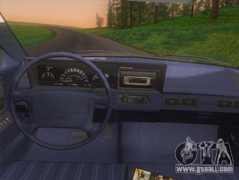 Oldsmobile Cutlass Ciera Cruiser for GTA San Andreas right view