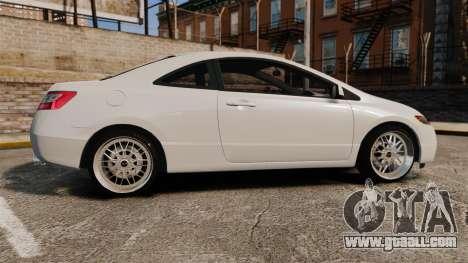 Honda Civic Si v2.0 for GTA 4 left view