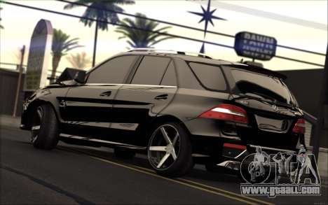 Mercedes-Benz ML63 AMG for GTA San Andreas left view