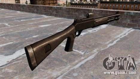 Semi-automatic shotgun the Benelli tactical for GTA 4 second screenshot