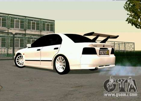 Mitsubishi Galant for GTA San Andreas left view