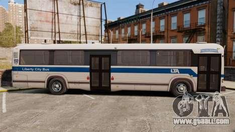 MCI Classic TC40-102A 1988 Liberty City for GTA 4 left view