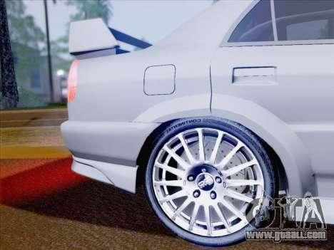 Mitsubishi Lancer Evolution VI LE for GTA San Andreas upper view