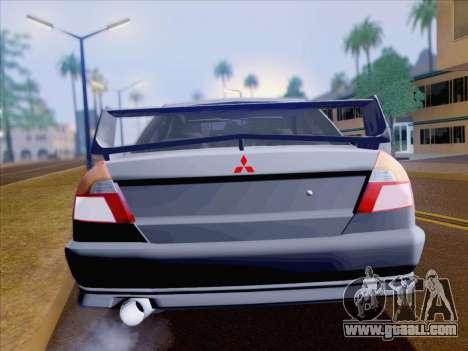 Mitsubishi Lancer Evolution VI LE for GTA San Andreas side view
