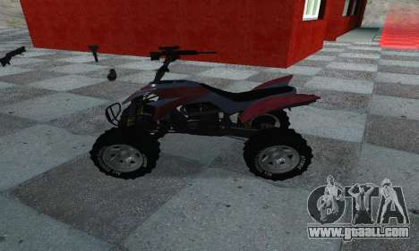 GTA 5 Blazer ATV for GTA San Andreas left view