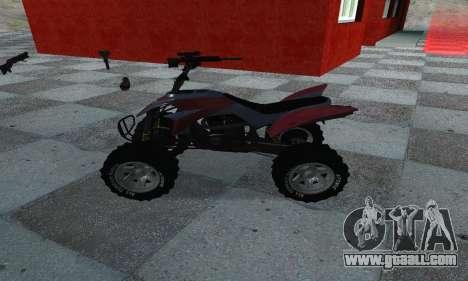 GTA 5 Blazer ATV for GTA San Andreas left view