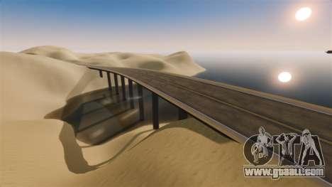 Location Of Desert Highway for GTA 4 fifth screenshot