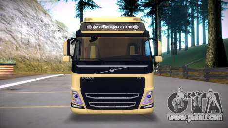 Volvo FM 2013 for GTA San Andreas back view