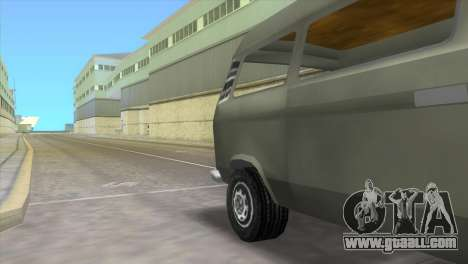 Volkswagen Transporter T3 for GTA Vice City back left view