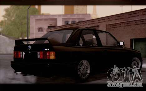 BMW M3 E30 Stock Version for GTA San Andreas back left view