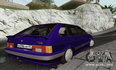 Ba3 2114 for GTA San Andreas back view