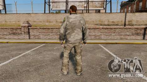 Urban Camo suit for GTA 4 second screenshot