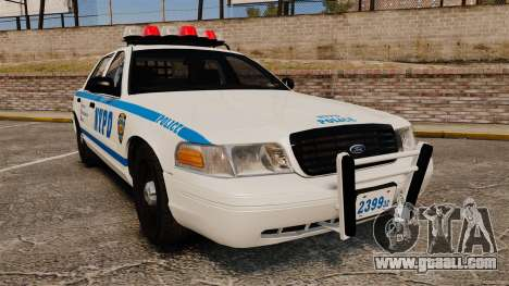 Ford Crown Victoria 1999 NYPD for GTA 4