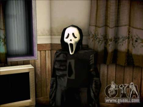 Maniac from the movie Scream for GTA San Andreas