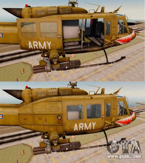 Bell UH-1 Iroquois v2.0 Gunship [EPM] for GTA 4 bottom view