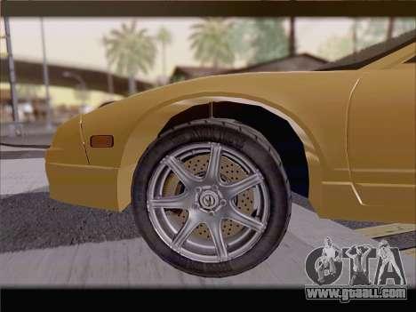 Acura NSX for GTA San Andreas engine