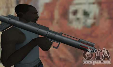 Missile launcher from Star Wars for GTA San Andreas third screenshot