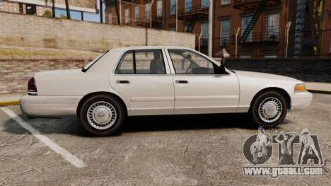Ford Crown Victoria 1998 v1.1 for GTA 4 left view