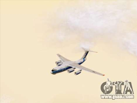 Il-76td-90vd to Volga-Dnepr for GTA San Andreas side view