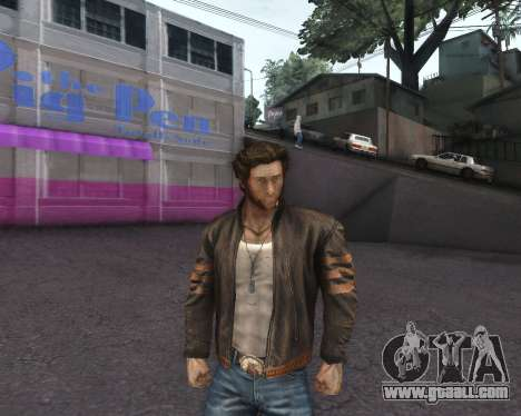X-men Origins: Wolverine [Skins Pack] for GTA San Andreas forth screenshot